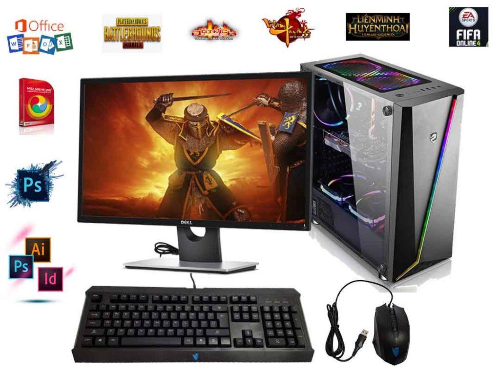 Máy Tính Chơi Game Mới 100% Core I3 2100 - VGA GT 730 2Gb D5
