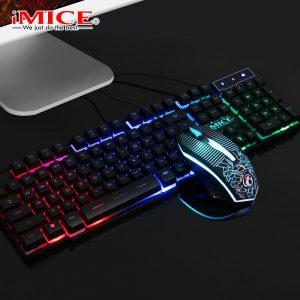 Combo chuột bàn phím cáo cấp chơi game KM 680 giả cơ tại Máy Tính Gia Bảo.