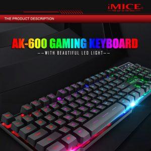Bàn Phím Có Led Chuyên Game IMICE AK-600 tại Máy Tính Gia Bảo.